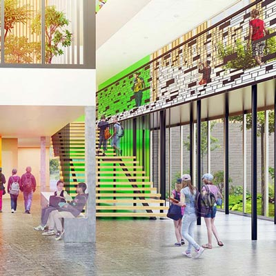 In situ - Architecture, Culture(s) & Ville - Collège Saint-Joseph-de-Porterie