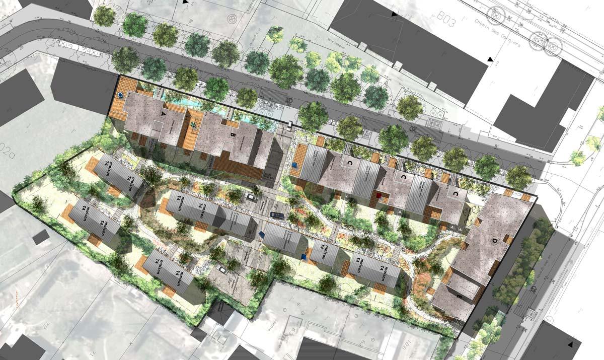 In situ - Architecture, Culture(s) & Ville - Les Jardins de Saint-Joseph - ZAC Erdre Porterie