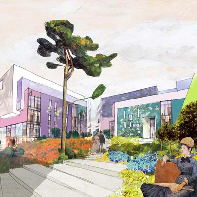 In situ - Architecture, Culture(s) & Ville - Projet immobilier sur le site du collège Piobetta