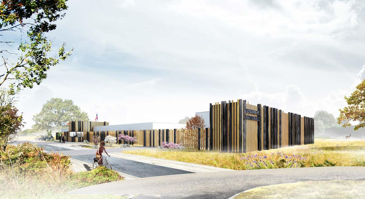 In situ - Architecture, Culture(s) & Ville - Gendarmerie de Nozay