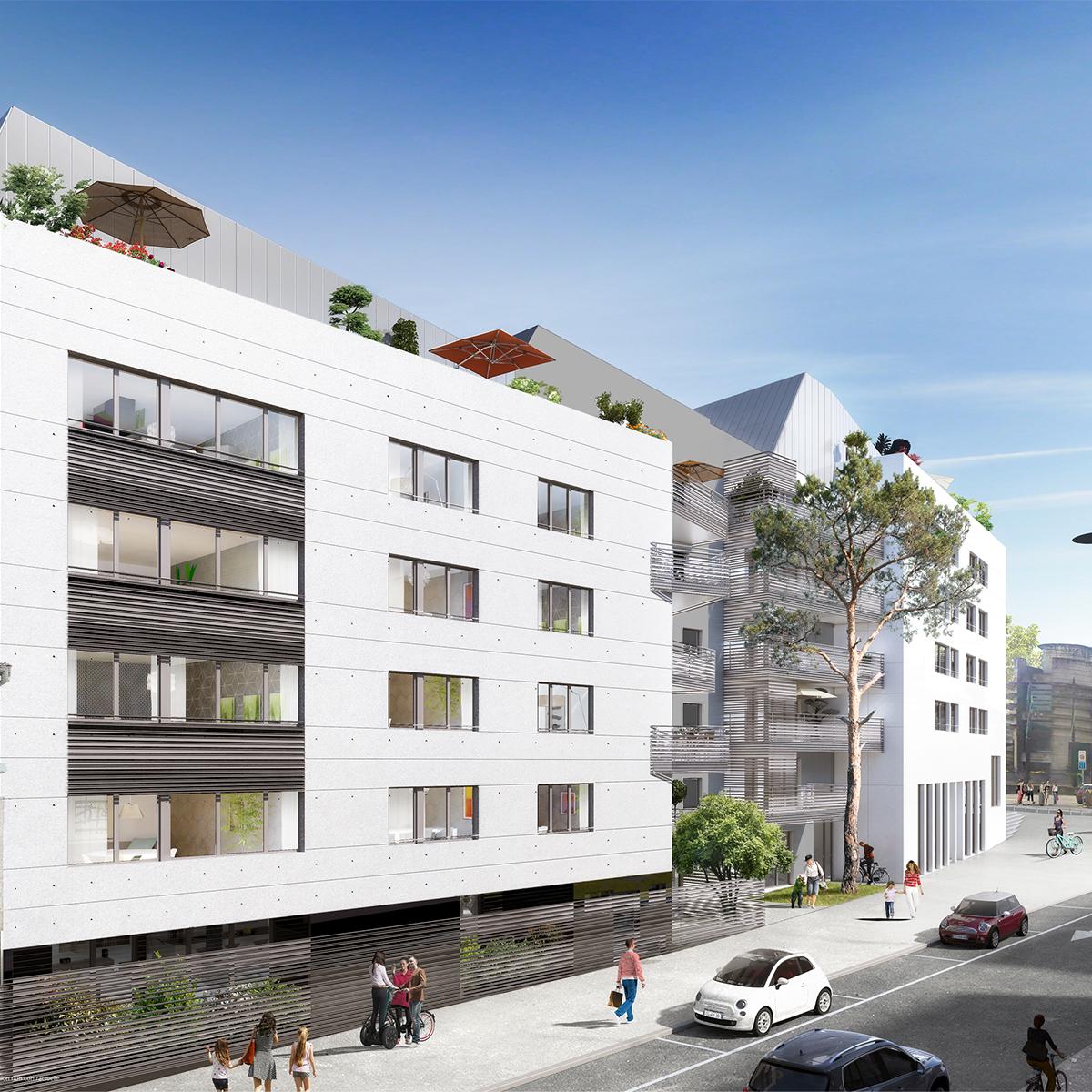 In situ - Architecture, Culture(s) & Ville - Cœur de ville - de Lattre à Rezé