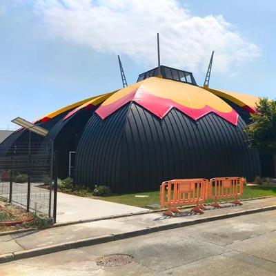 In situ - Architecture, Culture(s) & Ville - Centre des arts de la scène et du cirque pour Chanteloup-les-Vignes