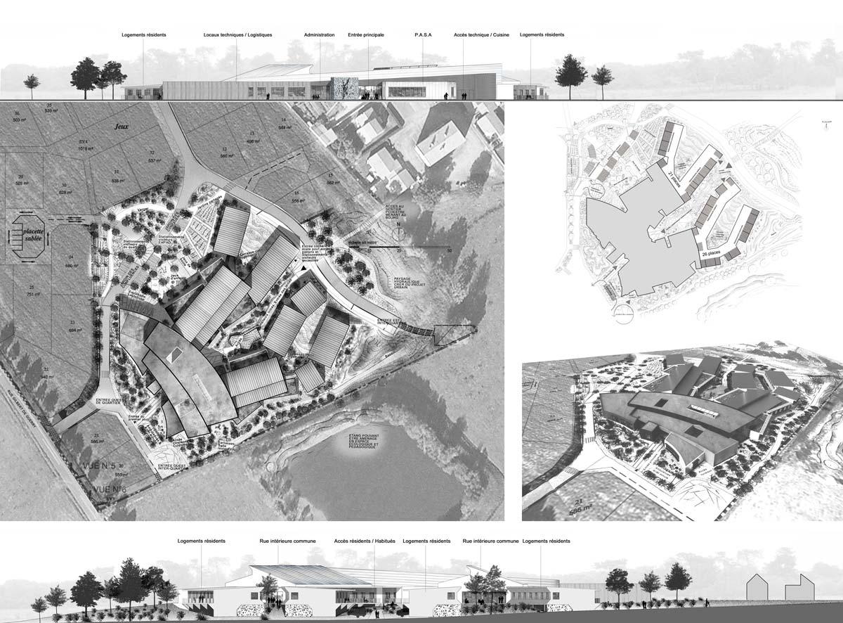 In situ - Architecture, Culture(s) & Ville - EHPAD de Chavagnes-en-Paillers