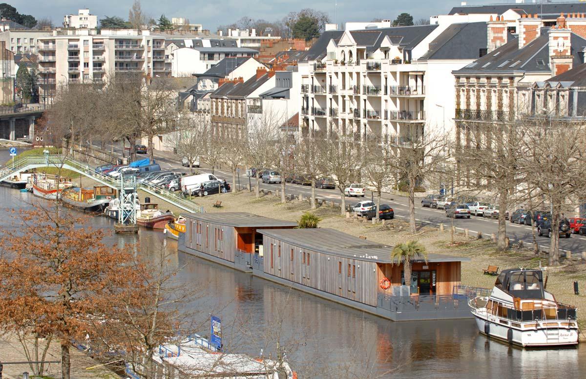 In situ - Architecture, Culture(s) & Ville - Crèche flottante de Nantes