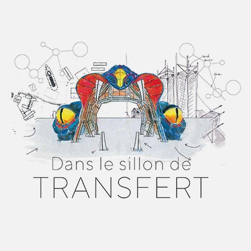 Dans le sillon de Transfert - Image de couverture
