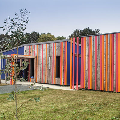 In Situ - Architecture, Culture(s) & Ville - Crèche ''Le Lézard Bleu'' - Savenay