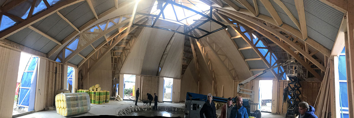 In Situ, Architecture, Culture(s) & Ville- Chapiteau pour la Compagnie des Contraires - Arts du cirque