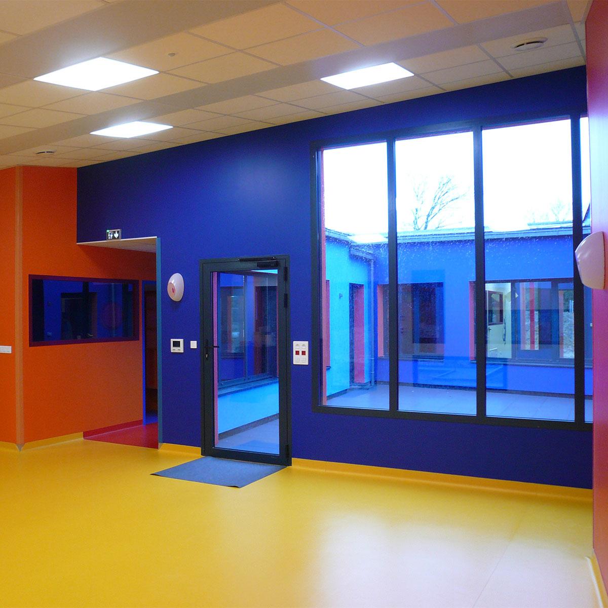 In Situ, Architecture, Culture(s) & Ville - Crèche ''Le Lézard Bleu'' - Savenay