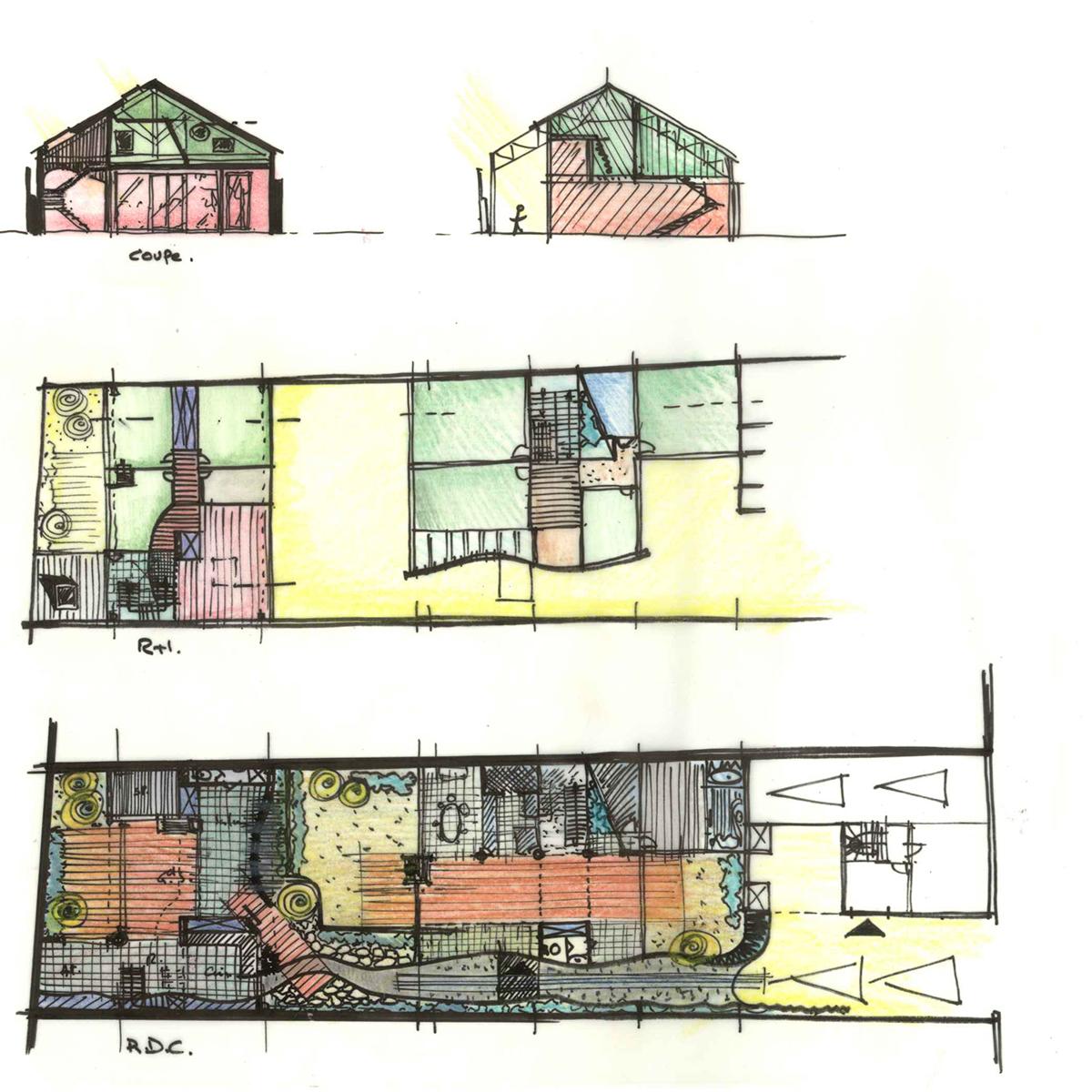 In Situ, Architecture, Culture(s) & Ville- Maison rue d'Allonville Nantes