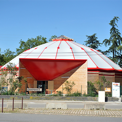 In Situ - Architecture, Culture(s) & Ville - Chapidock - Ecole de cirque Nantes