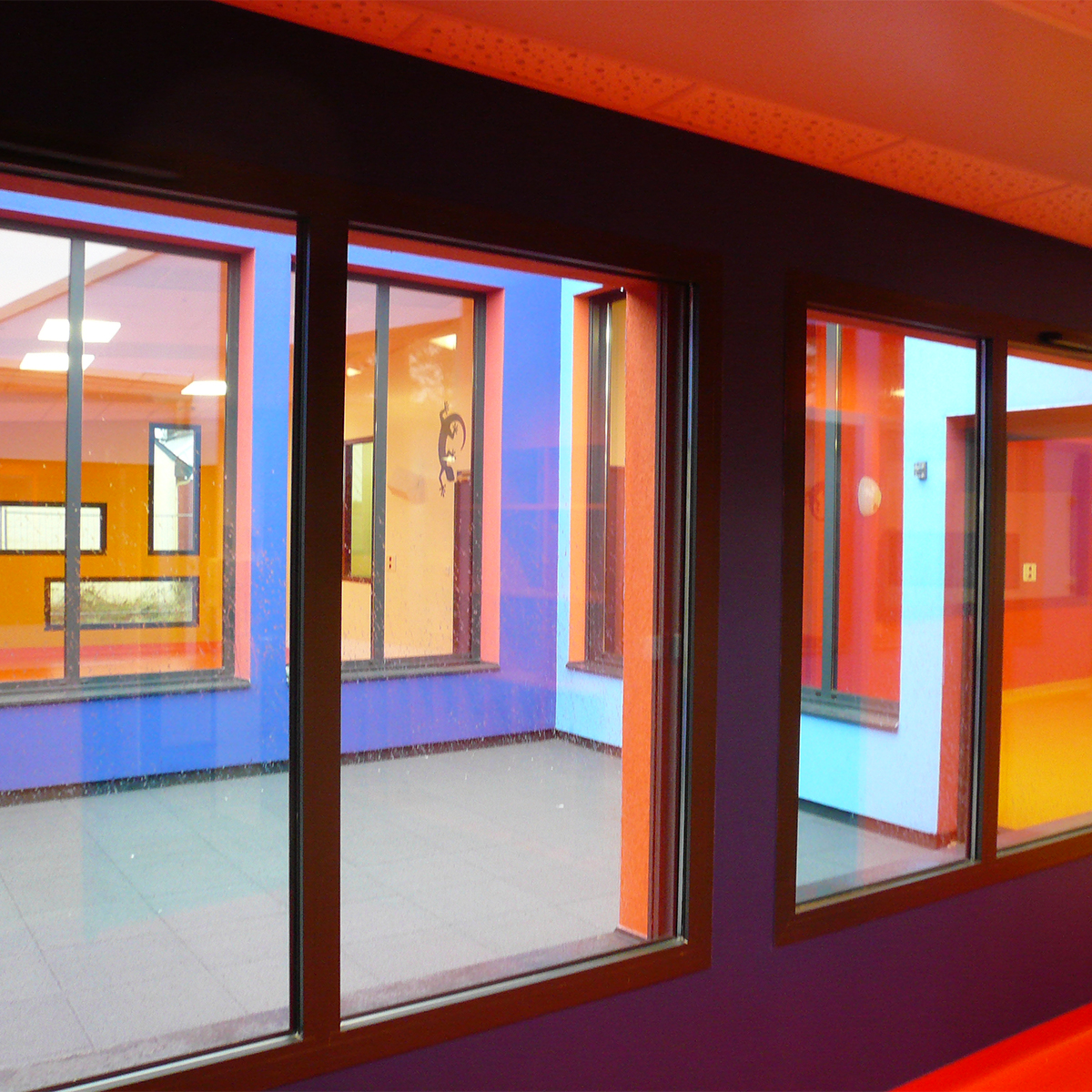 In Situ, Architecture, Culture(s) & Ville-Crèche ''Le Lézard Bleu'' - Savenay