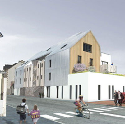 In Situ - Architecture, Culture(s) & Ville - Résidence Avel Izel - Centre Médico-Social Le Pouliguen